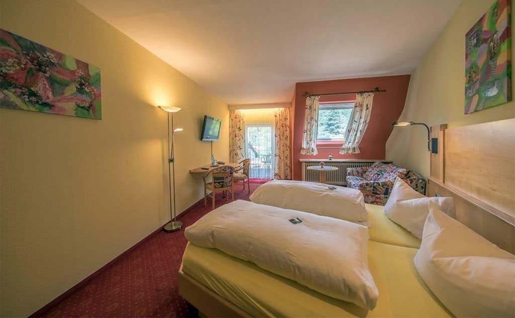 Schönes Doppelzimmer mit Balkon