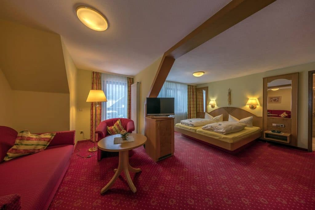 Großzügige Junior-Suite im Hotel Freihof