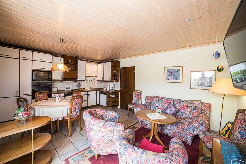 Ferienwohnung Panorama große Wohnküche