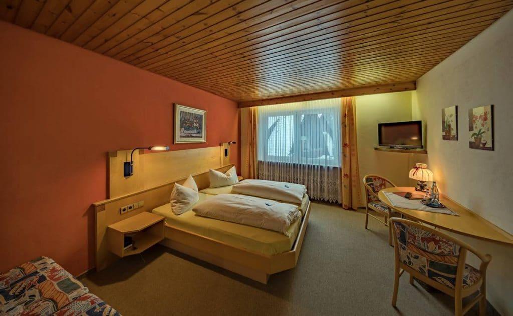 Schönes Doppelzimmer ohne Balkon