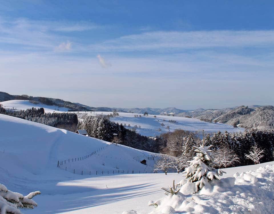 Winterlandschaft im Oberharmersbach